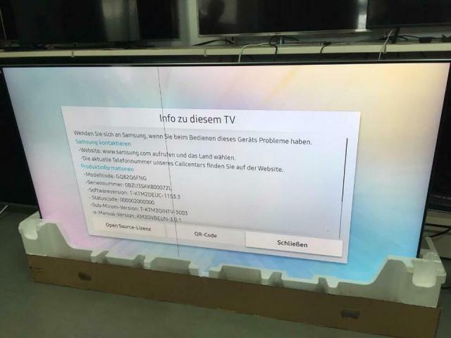 Verkaufe Samsung 82 Zoll Qled GQ82Q6FN - 3/4