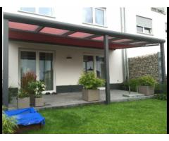 Alu Terrassenüberdachung/ Carport/ Markisen/Sicht u.Sonnensc