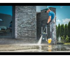 Reinigung von Pflastersteinen, Treppen und Terassen!