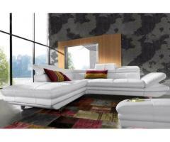 Verkaufe Eck-Sofa Bett-,Kopf