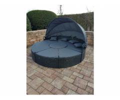 Sonneninsel schwarz Abverkauf 230cm
