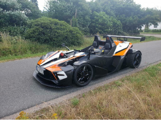 KTM X-Bow R, DSG, ABS, Fast alle Power Parts, NP 140.000€, M - 1/3