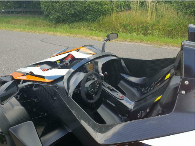 KTM X-Bow R, DSG, ABS, Fast alle Power Parts, NP 140.000€, M - 3/3