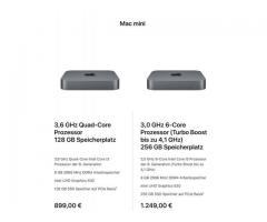 Verkaufe Apple Mac mini 2018