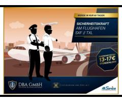 Neueinsteiger: Jetzt in nur 60 Tagen - Security am Flughafen