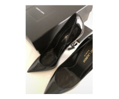 Yves Saint Laurent Opyum pumps decollete logo