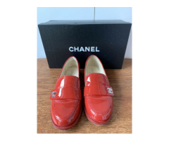 Chanel | Loafer in Lackleder Gr.37,5