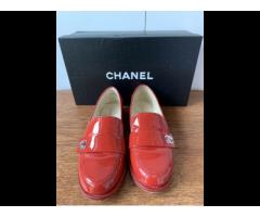 Chanel | Loafer in Lackleder Gr.37,5