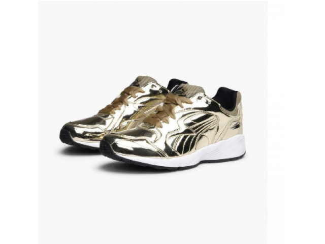 PUMA Prevail Metal GOLD Sneaker Damenschuh  Größ - 1/3