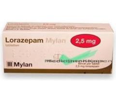 Lorazepam 2,5 mg Apotex-Boxen