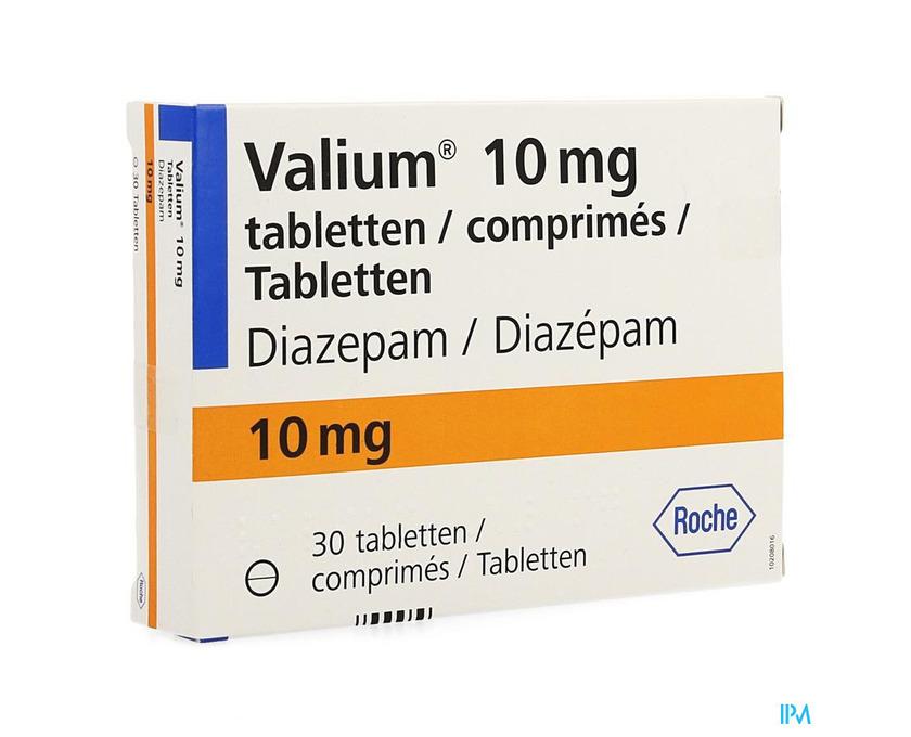Kaufen Sie Roche Valium Diazepam 10mg! Bestpreis - 1/1