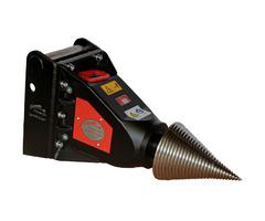 Kegelspalter Black Splitter S2X Holzspalter Greifer Erdbohre