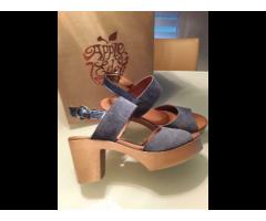 Sandalen aus Leder unbenutzt von Apple of Eden - Bild 3/3