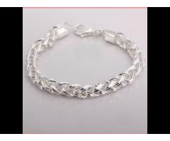 Silber-SET TWIST Halskette und Armband wunderschön NEU