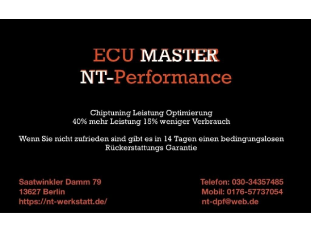 Chip-Tuning & ECO-Optimierung - 1/1