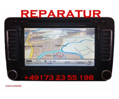 W RNS 510 defekt Navigation Navi Reparatur Start Bootfehler