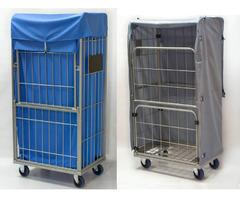 Innen- und außen- Textil-Containerhauben für Gittercontainer