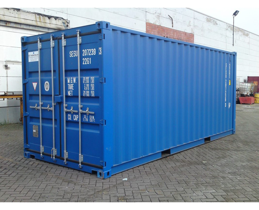 Container zu verkaufen bereits gebraucht - 1/2