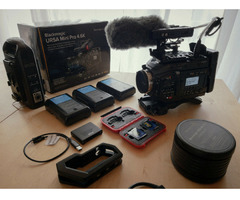 Blackmagic URSA Mini Pro 4.6K Arri PL & EF