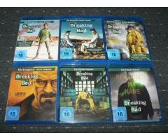 Verkaufe Breaking Bad / Die Komplette Serie auf Bluray