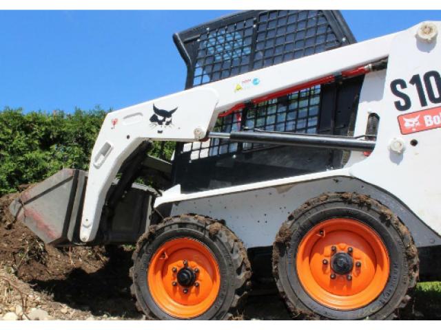 Bobcat S100 Kompaktlader / Zusatzhydraulik / nur 500Bh - 1/3