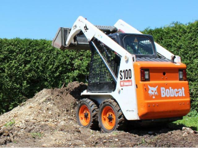 Bobcat S100 Kompaktlader / Zusatzhydraulik / nur 500Bh - 3/3