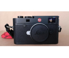 Leica M10 Schwarz Verchromt