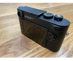 Leica m10 schwarz Messsucherkamera Top Zustand!
