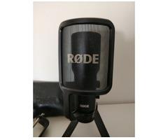 Rode NT-USB + PSA1 Gelenkarmstativ + PSM1 Spinne + Kabel - Bild 3/3
