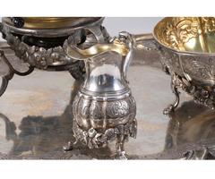 Silber Teeservice, 18./19.Jh., Gewicht ca. 5kg