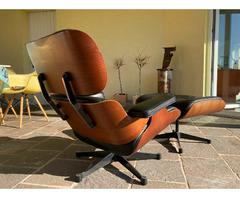 Vitra Eames Lounge Chair 70er Jahre Vintage
