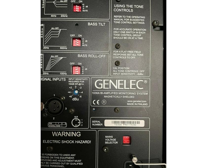Genelec 1030A Aktiv Boxen - 5/5