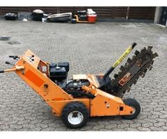 Baretto 1324 Grabenfräse mit Benzin Motor