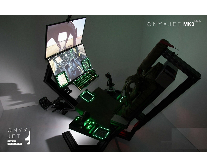 ONYXJET - MK3 Flugsimulator / Cockpit / (Silver) - 1/6