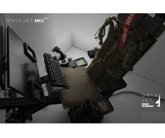 ONYXJET - MK3 Flugsimulator / Cockpit / (Silver)