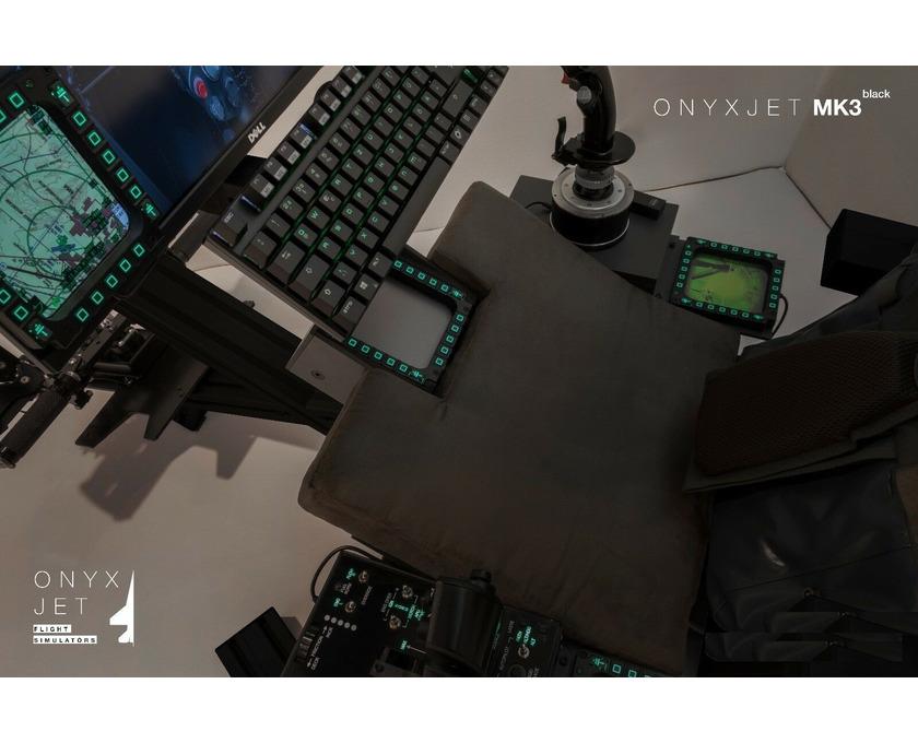 ONYXJET - MK3 Flugsimulator / Cockpit / (Silver) - 3/6