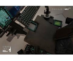 ONYXJET - MK3 Flugsimulator / Cockpit / (Silver) - Bild 3/6