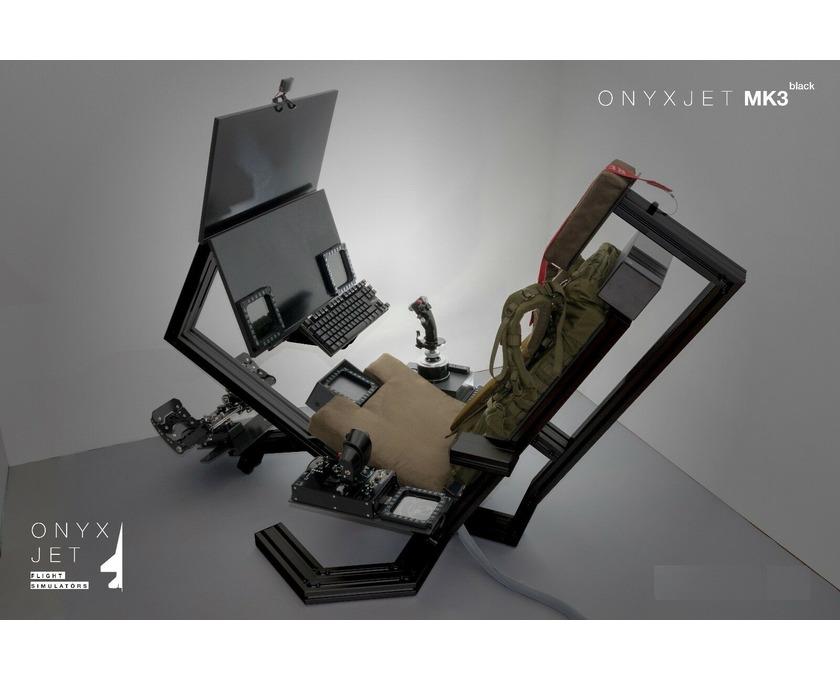 ONYXJET - MK3 Flugsimulator / Cockpit / (Silver) - 4/6