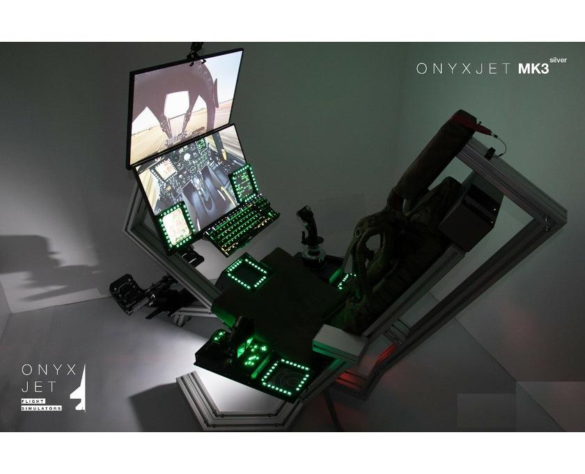ONYXJET - MK3 Flugsimulator / Cockpit / (Silver) - 5/6
