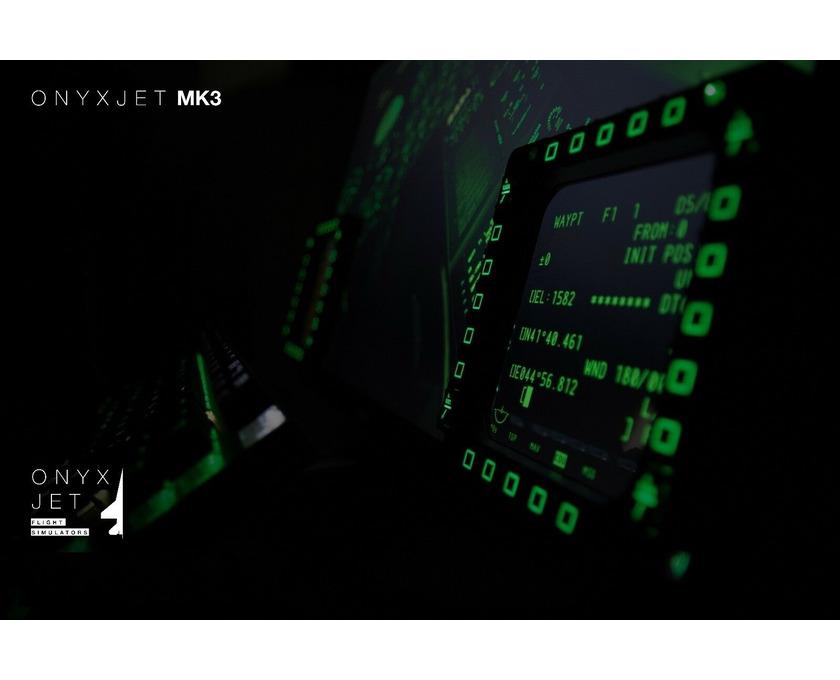 ONYXJET - MK3 Flugsimulator / Cockpit / (Silver) - 6/6