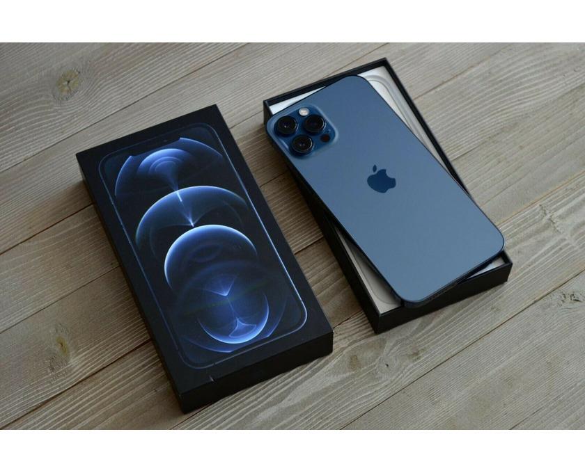 iPhone 12 Pro Max - 512GB - Pacific Blue (Unlocked) - 1/4
