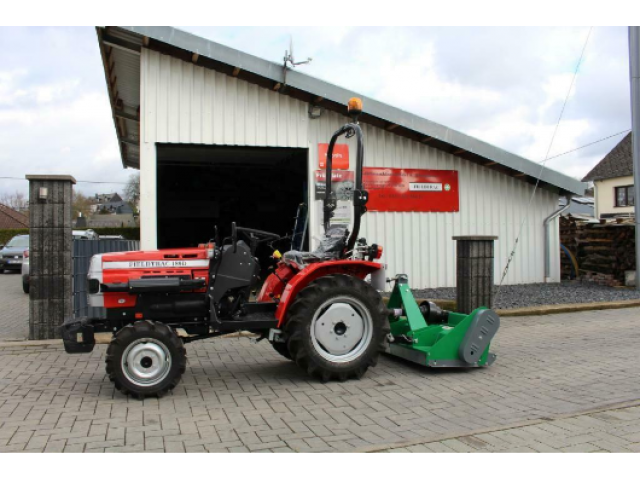 Field Trac 180 D Allrad Kleintraktor + Schlegelmulcher 125 c - 1/2