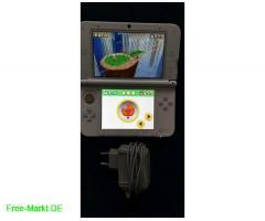 Nintendo 3DS xl weiß+3 3D-Spiele 3DS+Ladekabel - Bild 1/4