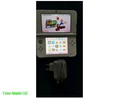 Nintendo 3DS xl weiß+3 3D-Spiele 3DS+Ladekabel