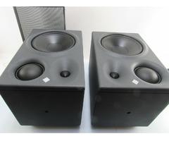 2 x Neumann Aktivboxen KH 310