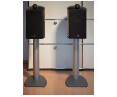 B&W Nautilus 805 mit Ständer-Lautsprecher